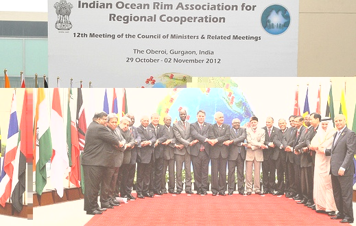 Delegates at the IOR-ARC council of ministers meeting