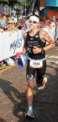 BALDWIN … shortlisted for triathlete of the year title