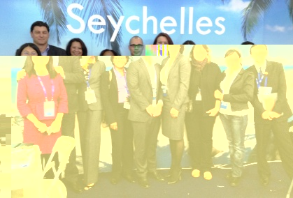 The Seychelles delegation at the CITM