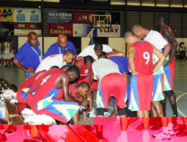 The country's men's team will play for a place at the Afro-Basket 2013