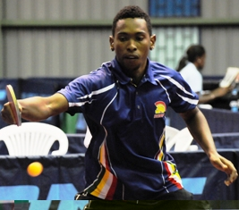 Godfrey Sultan, male senior player of the year