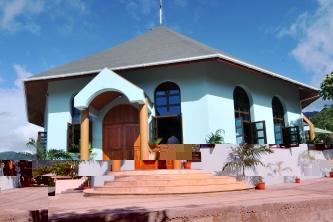 The new octagonal shape church