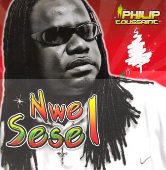 The cover of the Philip Toussaint's Nwel Sesel album