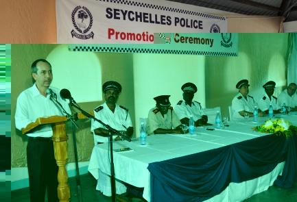 Minister Morgan addressing ...