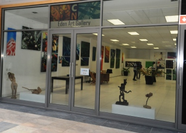 "The Eden Art Gallery has been described as ""A haven for Seychellois artists"""