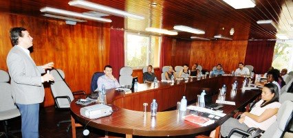 SIB staff in a training session