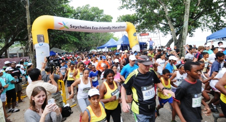 The Eco-friendly relay marathon is a new event on the sporting calendar