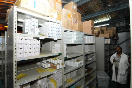 The new system will provide more precise information relating to medicine and other pharmaceutical stocks available in store