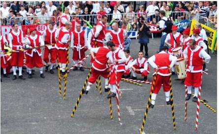 The Belgian Echasseurs will add excitement to the 2013 Carnaval International de Victoria