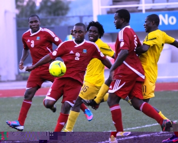 A new coach is needed for the country's national team, pictured here in action against Mozambique