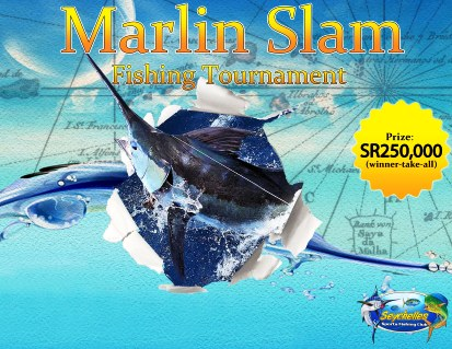 The marlin slam promotion poster