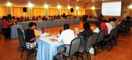 ILO workshop in session