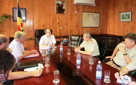 Minister Morgan during the meeting with the RDN delegation
