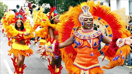 The Notting Hill Carnival teamwill again spice up this year's Carnaval International de Victoria