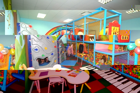 A partial view of the educational and recreational facilities that kids can enjoy