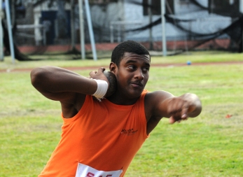 WILLIAM … new junior 6kg shot put and hammer records