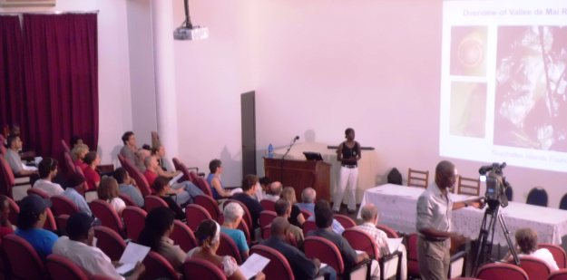 The 2012 Symposium was held on Mahe. This year Aldabra plays host
