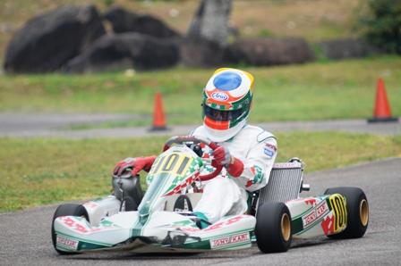 DAVID RENE … a first win in the 2013 SF1 class