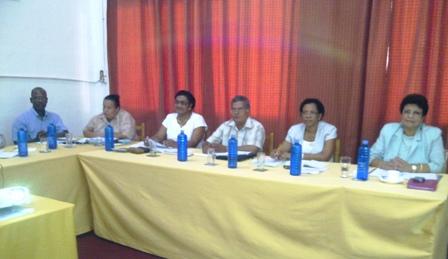 Other Education senior management officials during presentation
