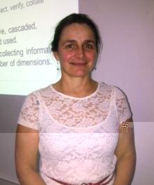Alta Folscher, consultant of the World Bank team
