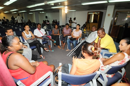 A number of young people met on Saturday to share ideas in the first 'Meet and Greet' session organised by the Seychelles National Youth Council