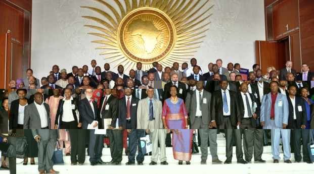 A group photograph of the conference delegates