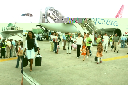Air Seychelles has increased the number of flights to South Africa