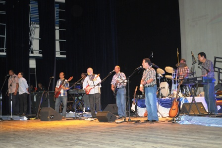 The Amigos group performing at the ICCS earlier this year