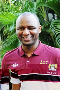 VIEIRA … appointed Manchester City's elite development squad coach