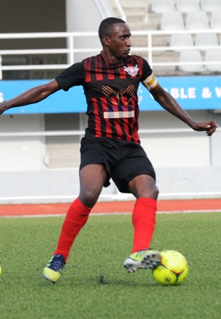 ANACOURA … scorer of St Michel's winning goal