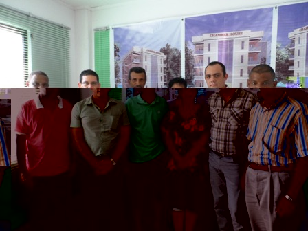 Members of the SCCI and farmers' association who attended the meeting