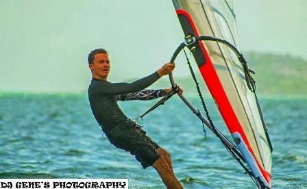 Jean Marc Gardette, windsurfing winner