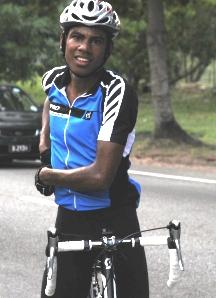 Race winner Dominique Arrisol