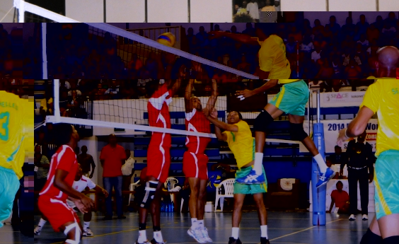 Rodney Ah-Kong powers unchallenged at the net