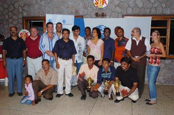 Cricket-Cricketers enjoy in gala evening