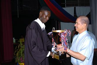 354 graduate in technology-Ahmadou Sylla scoops President's Cup