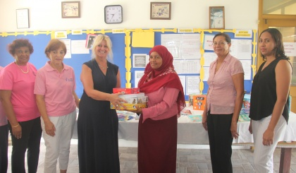 Soroptimist Club sponsors specialist to help School for the Exceptional Child