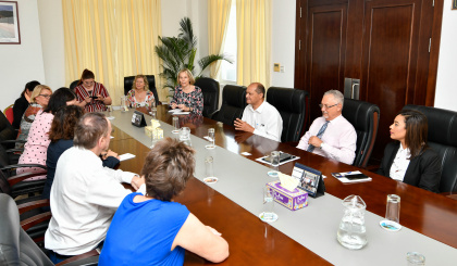 Speaker Prea meets with German parliamentary delegation