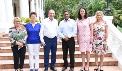 Parliamentary Friendship Group from Germany meet President Faure