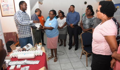 Nars holds training for family planning nurses, receives contraceptive samples from UNFPA
