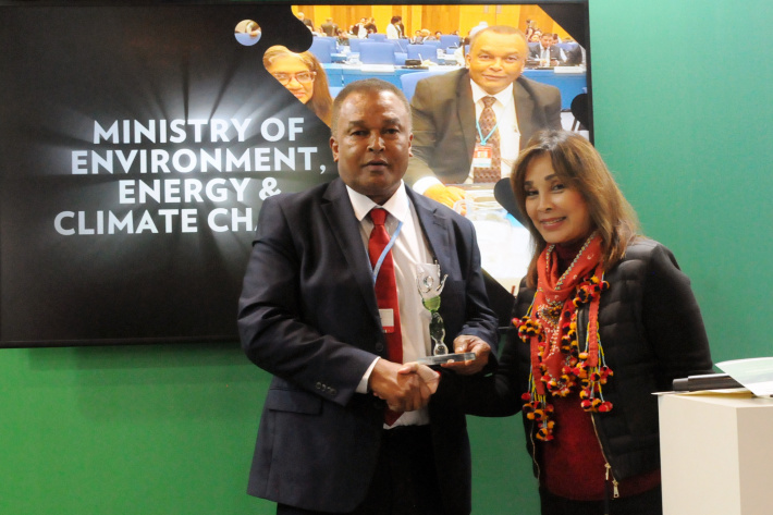 Seychelles' actions to combat climate change recognised