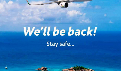 Air Seychelles suspends international flights temporarily