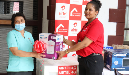Airtel donates to maternity ward