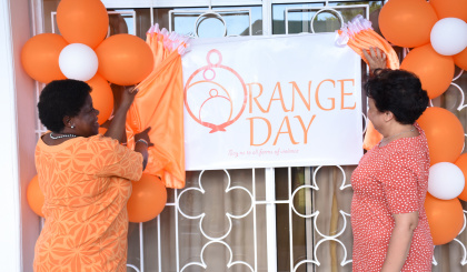 Launch of 16 days of Activism against gender-based violence