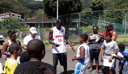 Abdel Sylla aims to transform basketball in his native Seychelles